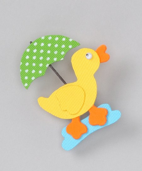 Green Umbrella Duck Clip