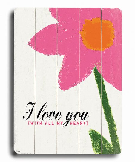 'I Love You' Wall Art