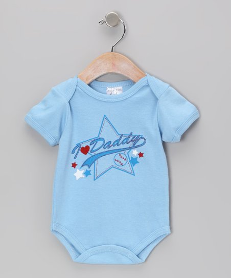 Blue &#039;I Heart Daddy&#039; Bodysuit - Infant