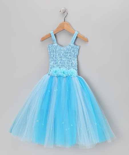 Light Blue Cindy Dress - Toddler & Girls
