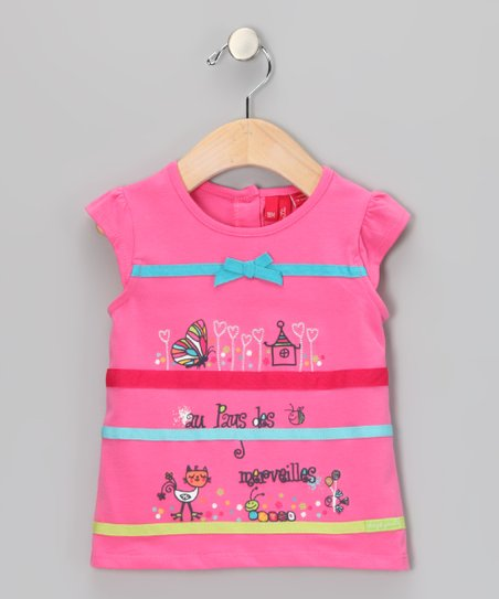 Azalea Pink Top - Infant & Toddler