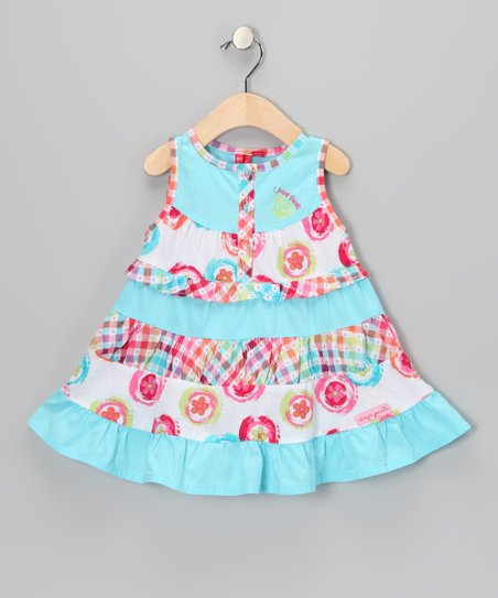 Blue Radiance Woven Dress - Infant & Toddler