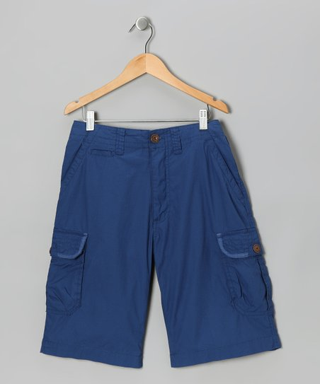 Dodger Blue Delhi Cargo Shorts