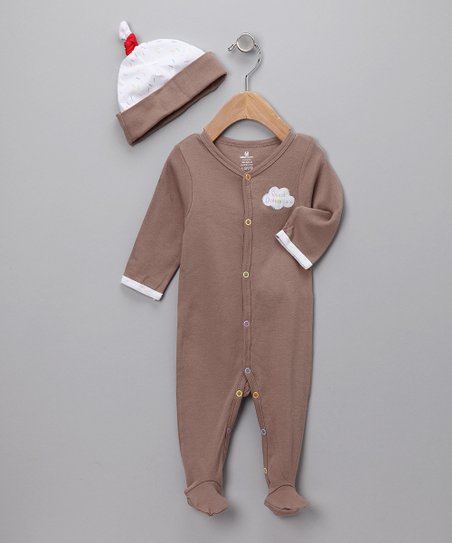 Chocolate 'Sweet Dreamzzz' PJs Set