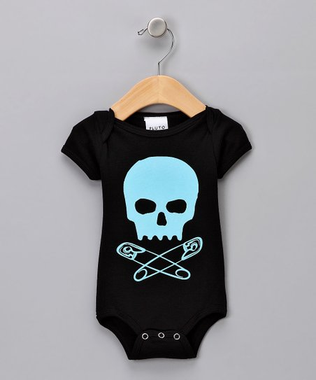 Blue Baby Skull Bodysuit - Infant