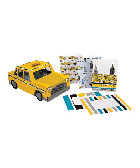 Meri Meri Yellow Cab Note Card Set