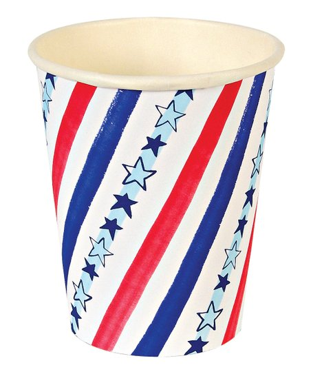 Stars & Stripes Cup - Set of 24