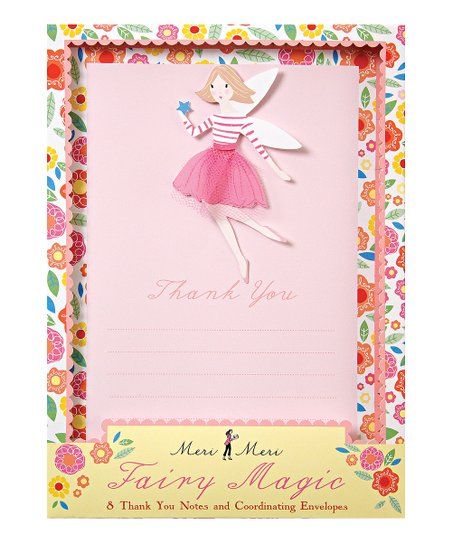 Meri Meri Fairy Magic Thank You Card Set