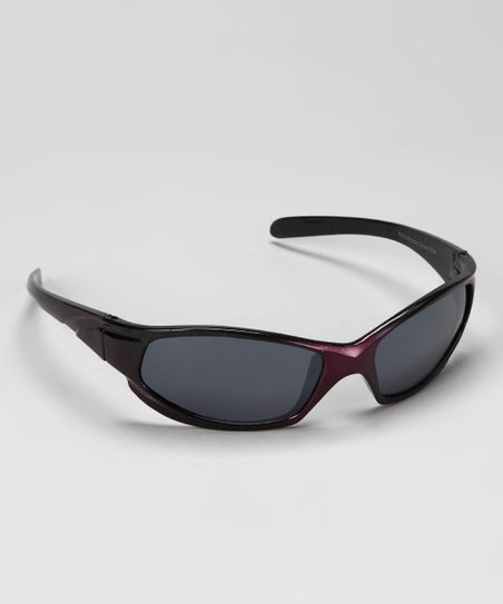 Purple & Black Fade Sunglasses