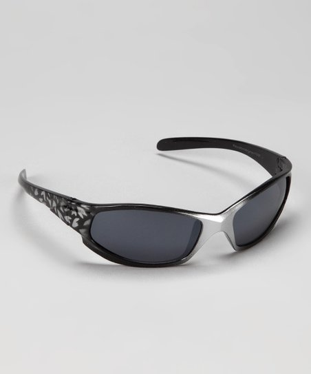 Silver & Black Fade Sunglasses