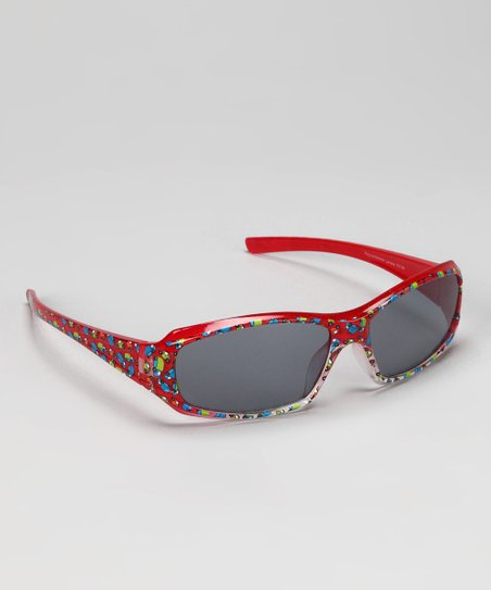 Red Car Sunglasses