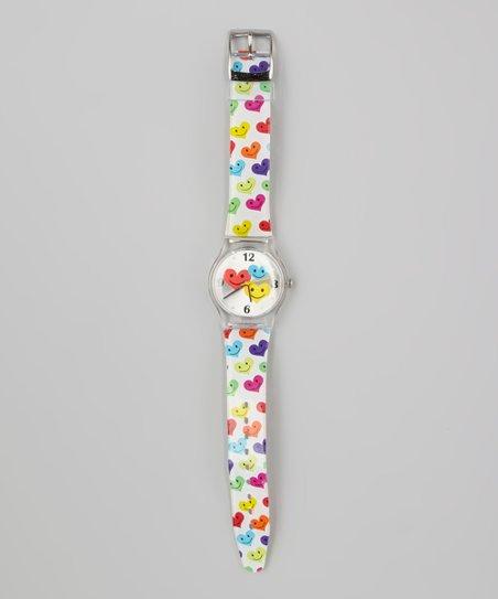 Clear Heart Jelly Watch
