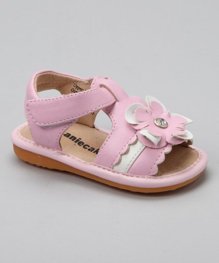 Light Pink Kenna Squeaker Sandal
