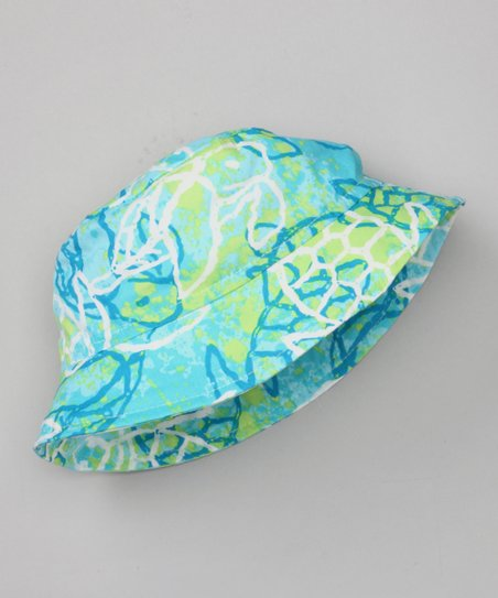 Green Turtle Bay Bucket Hat