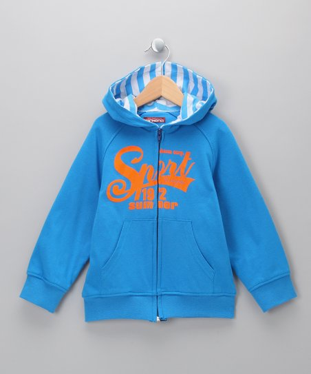 Azulon Tivoli Zip-Up Hoodie - Boys