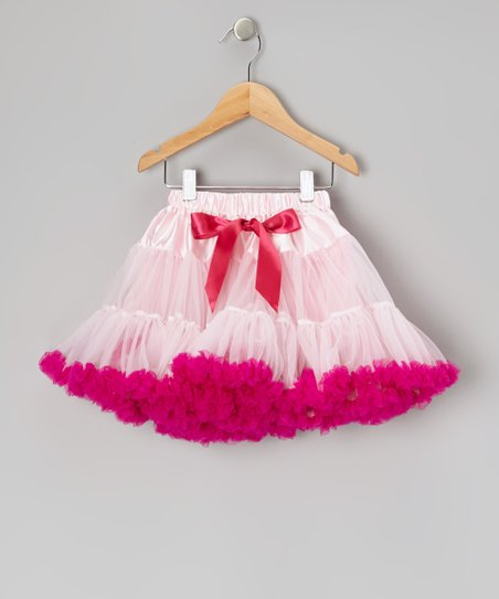 Pink & Hot Pink Pettiskirt - Toddler & Girls
