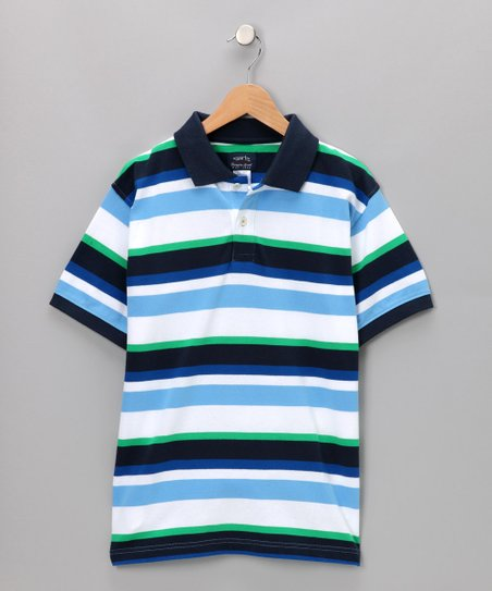 Light Blue Hank Polo - Toddler & Boys