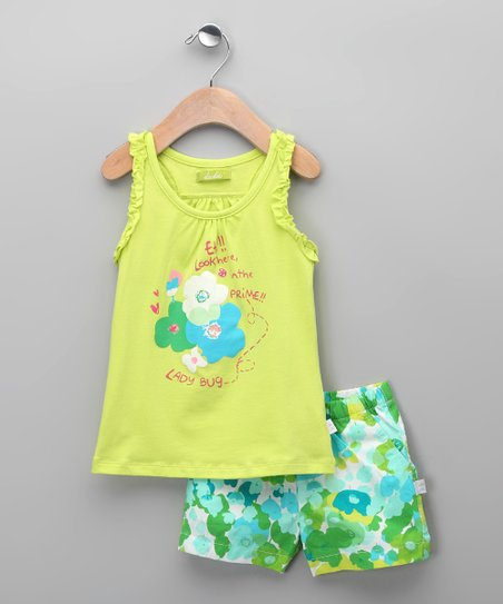 Glaciar Cacatua Tank & Shorts - Infant, Toddler & Girls