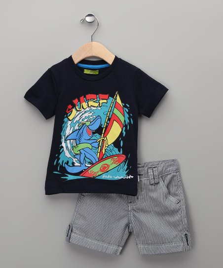 Unico Canal Tee & Shorts - Infant, Toddler & Boys