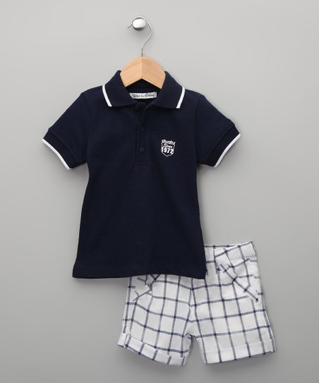 Marino Cuarzo Polo & Shorts - Infant, Toddler & Boys