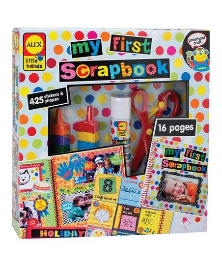 My First Scrapbook Set