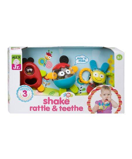 Shake Rattle & Teethe Set