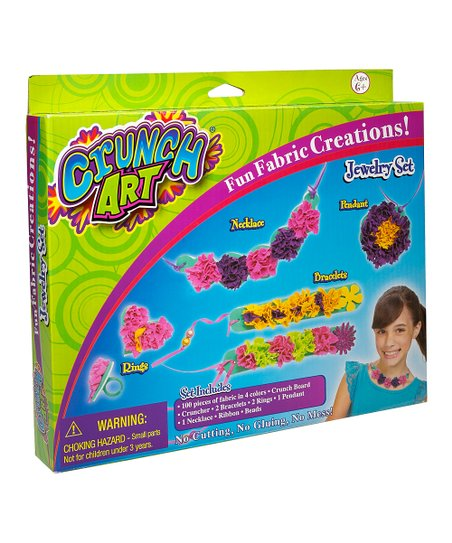 Jewelry Crunch Art Kit
