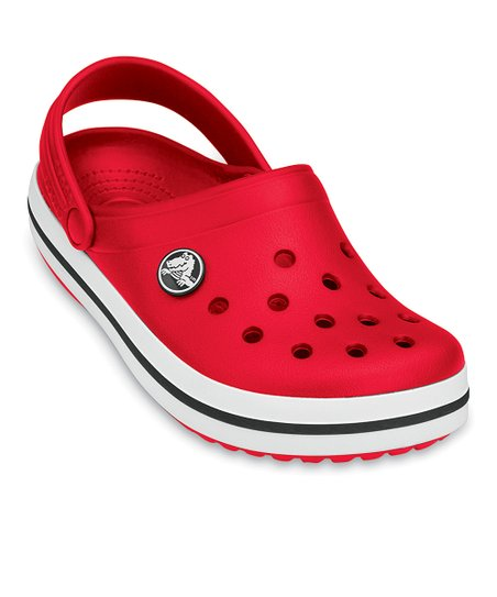 Red Crocband Clog - Kids
