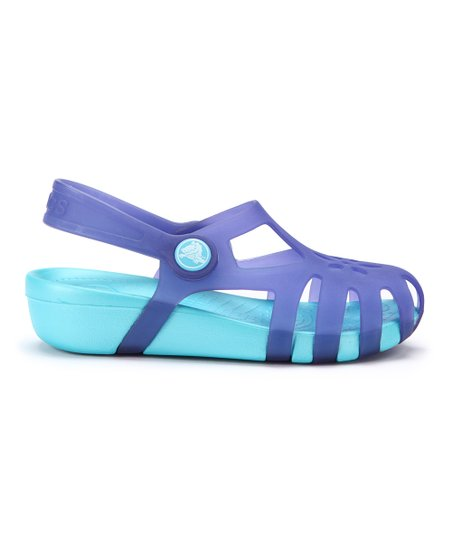 Ultraviolet &amp; Aqua Shirley Sandal