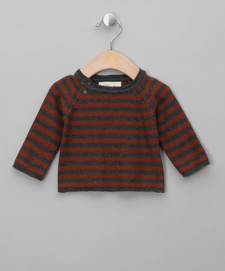 Concrete &amp; Brown Sugar Gilbert Merino Sweater - Infant &amp; Boys