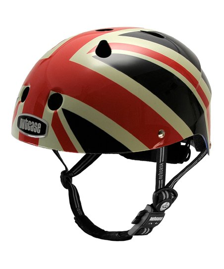 Red & Blue Union Jack Helmet