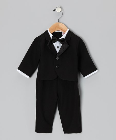 Black Tux Bodysuit & Jacket - Infant