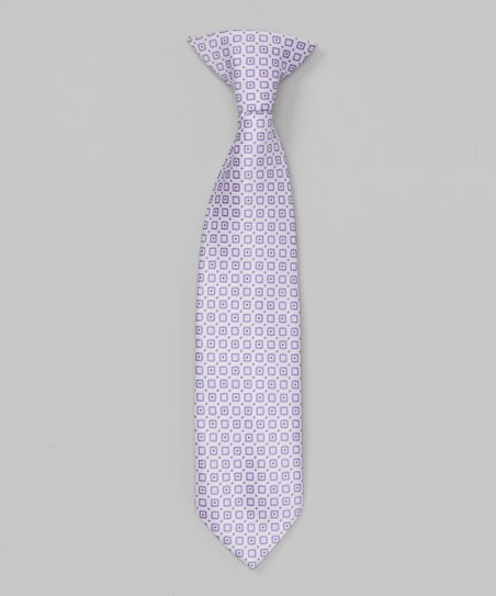 Light Purple Clip-On Tie