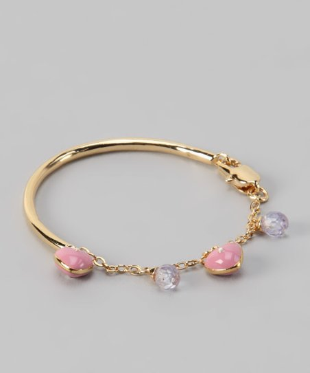 Pink Heart Bracelet