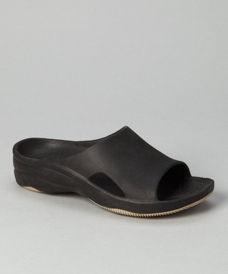 Black & Tan Slide - Women