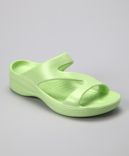 Soft Lime Sandal - Women