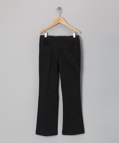 Black Flare Pants - Girls