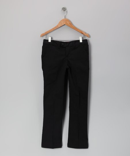 Black Slim Pants - Girls