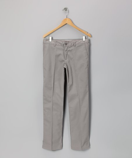 Silver Stretch Pants - Girls
