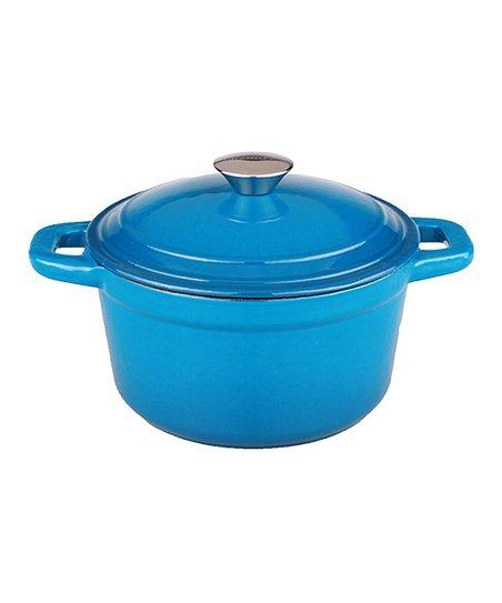 Blue Cast Iron Neo 7-Qt. Stockpot & Lid
