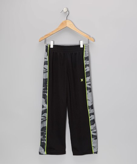 Black Commando Pants - Boys
