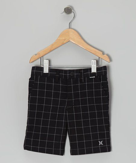 Black Boardwalk Shorts - Boys