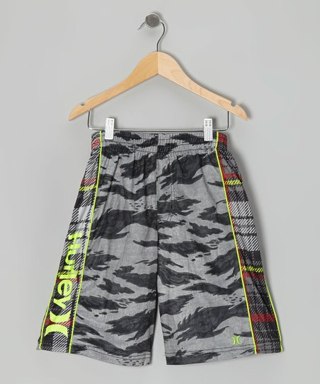 Black Commando Shorts - Boys
