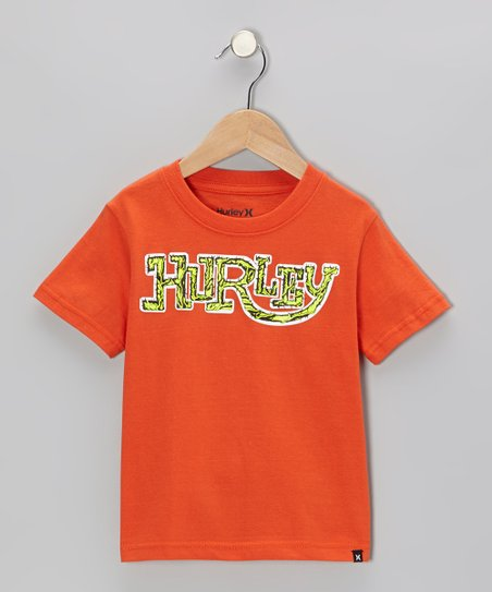 Blaze Orange Ratrod Tee - Boys