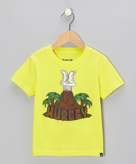 Citrus Yellow Volcano Tee - Toddler & Boys