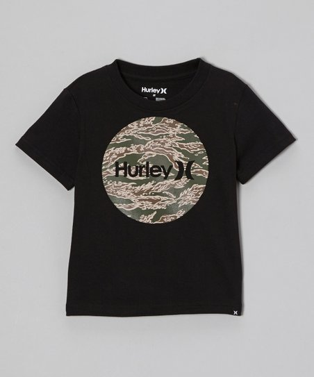 Black Hurley Tee - Toddler & Boys