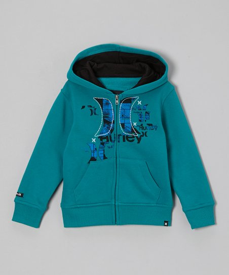 Blue Zip-Up Hoodie - Toddler
