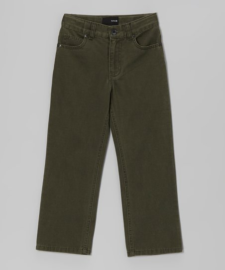 Utility Green Pants - Toddler