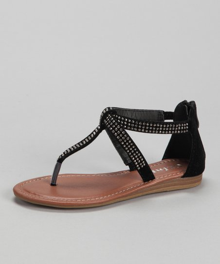 Link Black Lidia-08K Sandal