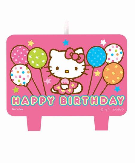 Hello Kitty Balloon Dreams Candle Set